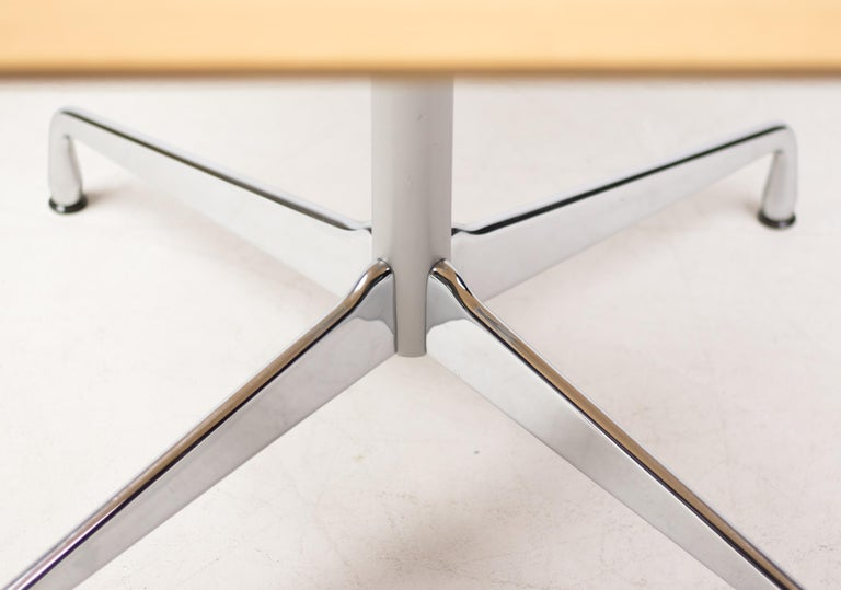 Mid-Century Modern Charles Eames Segmented Base Table For Sale