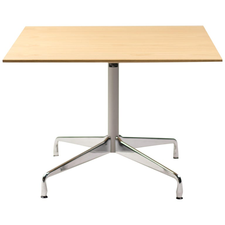 Charles Eames Segmented Base Table For Sale