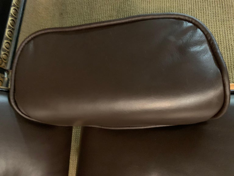 Charles Eames Style Lounge Chair with Ottoman real Leather 2