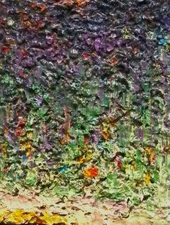 Green over Lavender