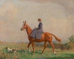 The Morning Ride, circa 1910