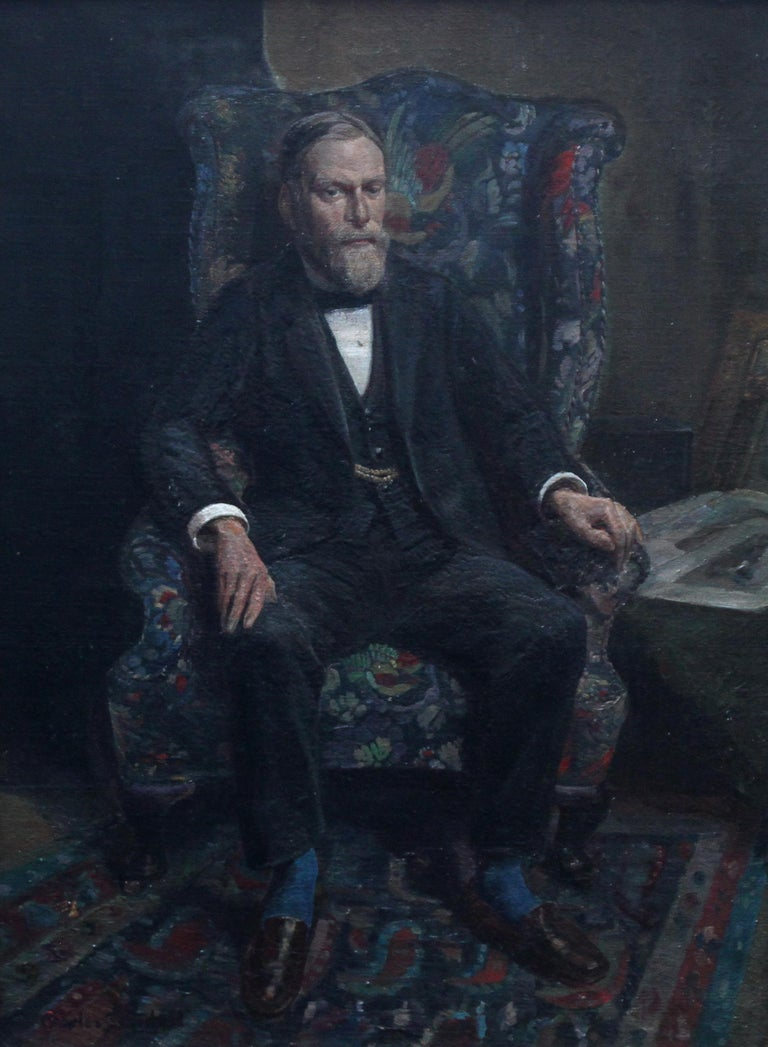 Philip Joubert - British art portrait oil painting senior commander 1930's WWII 2