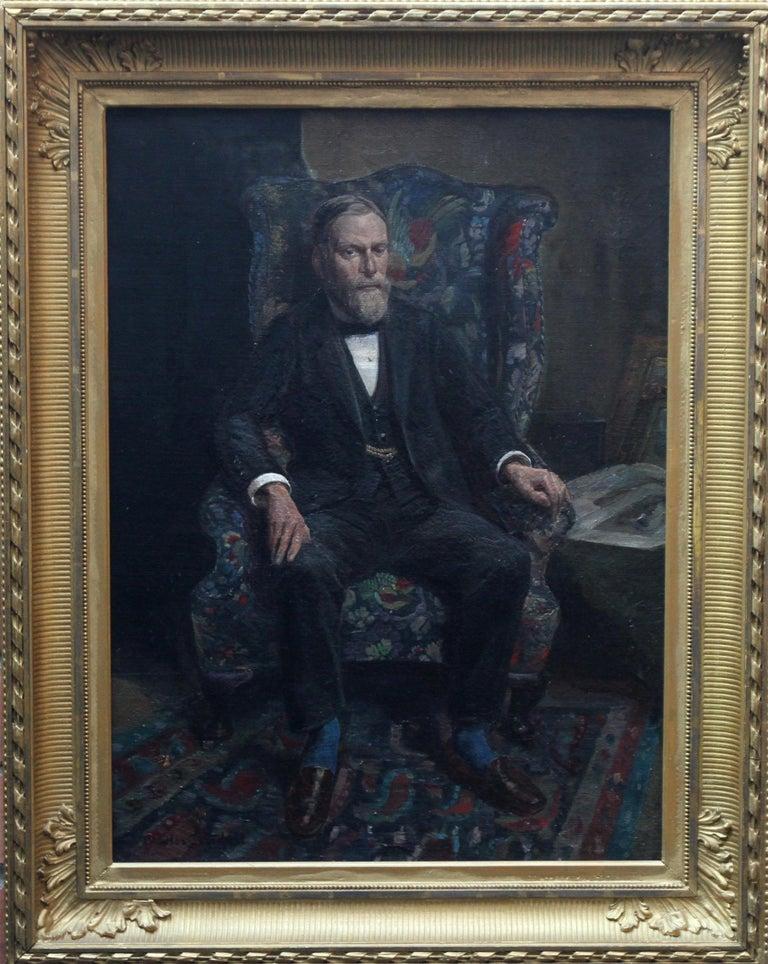 Philip Joubert - British art portrait oil painting senior commander 1930's WWII 9