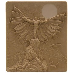 Charles Faust Sand Cast Wall Sculpture