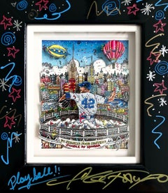Playball! (Mariano Rivera)—3d Constructions Collage