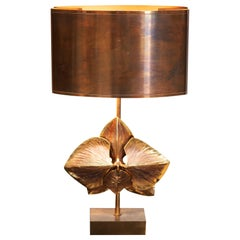 Charles and Fils Brass Table Lamp