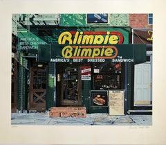 Blimpie, America's Best Dressed Sandwich Pop Art Photo Realist Silkscreen Litho