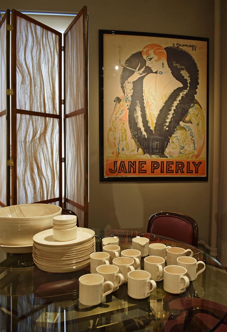 Charles Gesmar Original Jane Pierly Poster, 1925 'Signed' For Sale 2