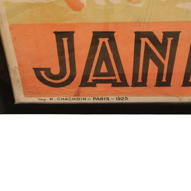 Charles Gesmar Original Jane Pierly Poster, 1925 'Signed' In Good Condition For Sale In New York, NY