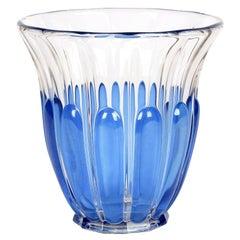 Charles Graffart Val St Lambert Art Deco Luxval Helvete Design Art Glass Vase