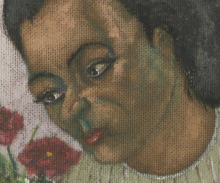 Une Femme - Contemporary Painting by Charles Harris AKA Beni Kosh