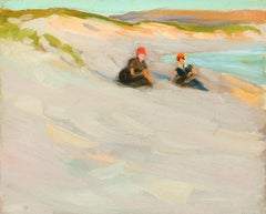 Girls on the Dunes, Ogunquit, Maine