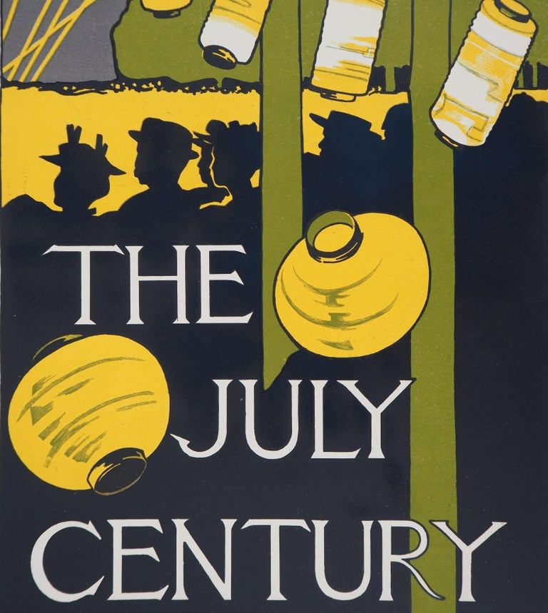 Charles Herbert WOODBURY The July Century, 1895  Lithograph Printed signature in the plate On vellum  Size 39 x 29 cm (c. 15.3 x 11.4