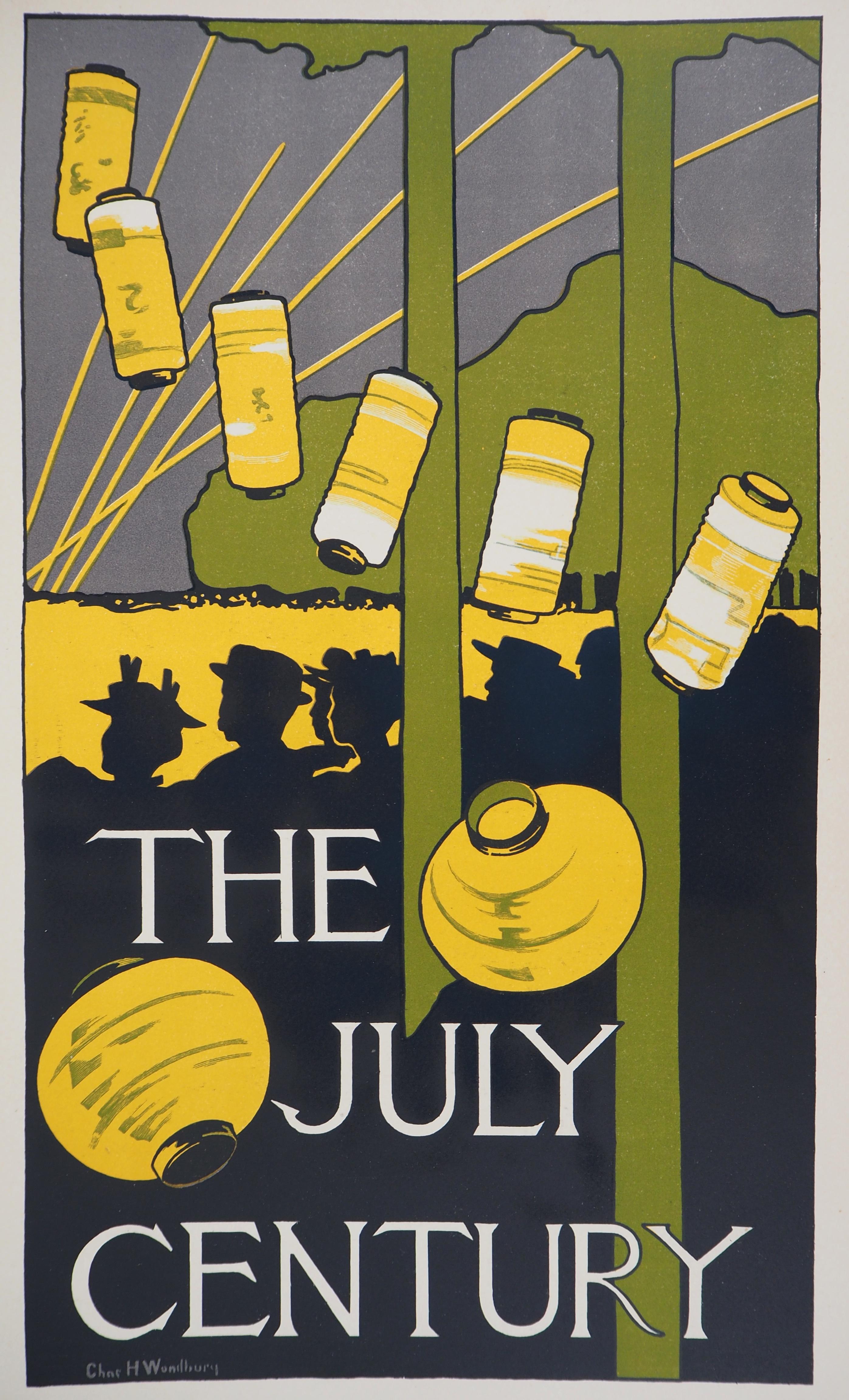 The July Century - Lithograph (Les Maîtres de l'Affiche), 1895