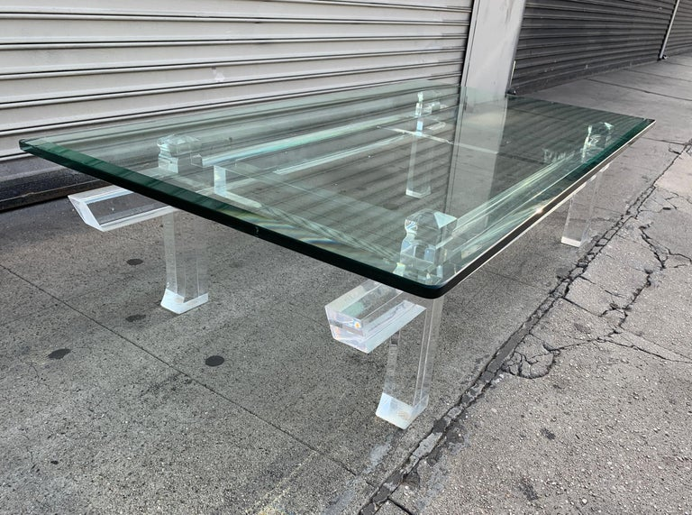 Charles Hollis Jones Box Cocktail Table Model CHJ 575 In Good Condition For Sale In Los Angeles, CA