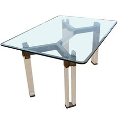 Charles Hollis Jones Dining Table from the Metric Collection