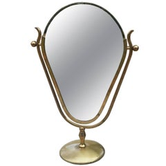 "Charles Hollis Jones ""Faces"" Vanity Mirror, Signed and Dated"