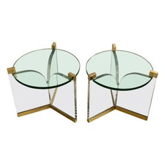 Charles Hollis Jones Trefoil Tables
