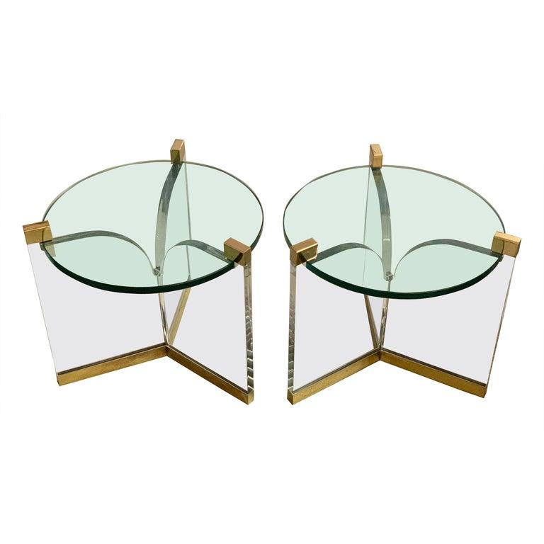 Charles Hollis Jones Trefoil Tables For Sale