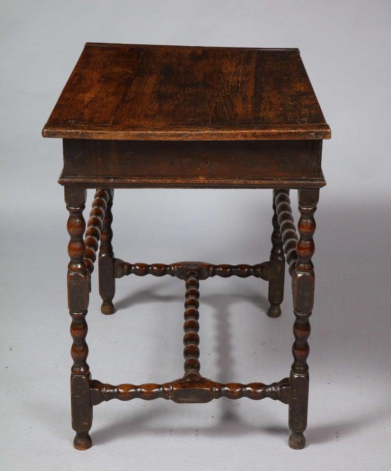 Charles II Oak Table For Sale 5