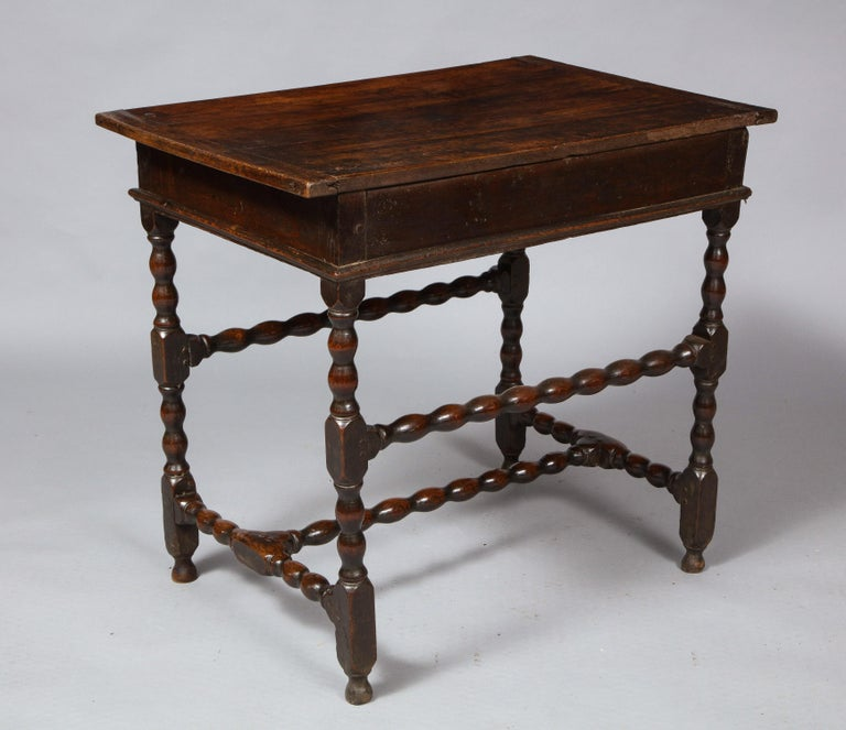 Charles II Oak Table For Sale 9