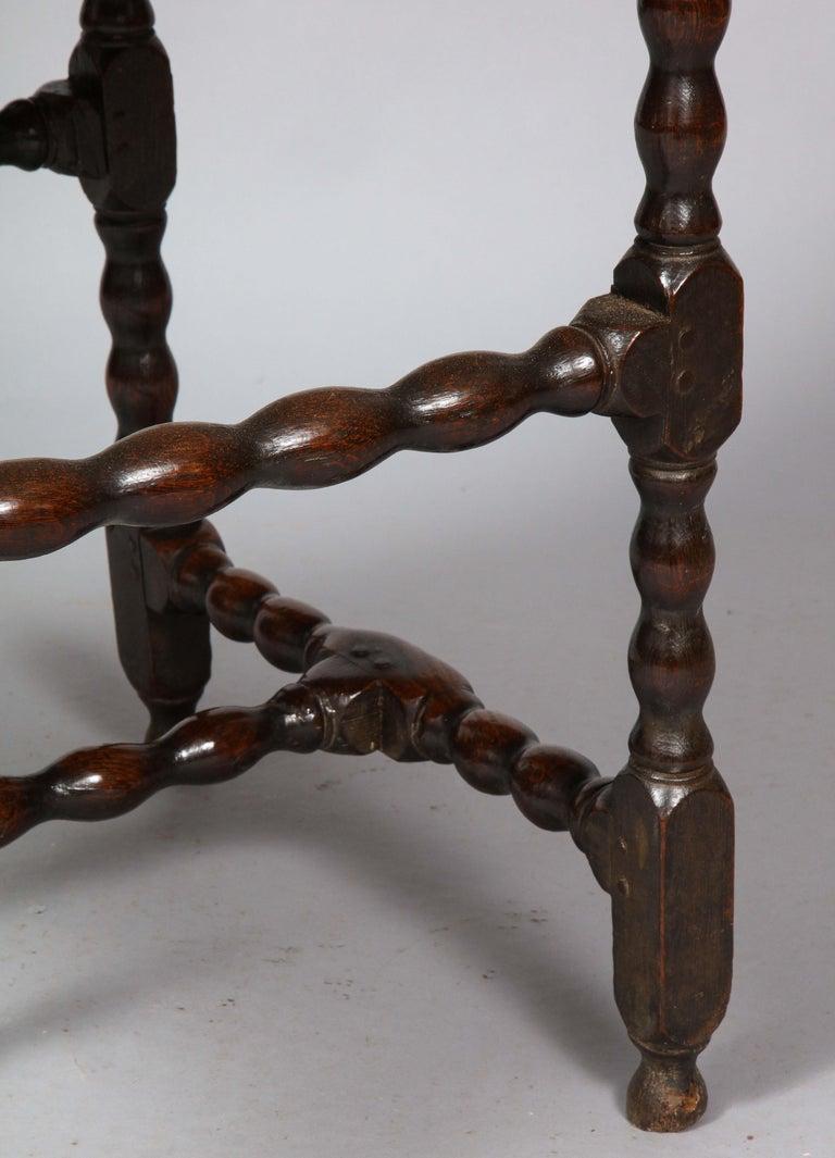 Charles II Oak Table For Sale 10