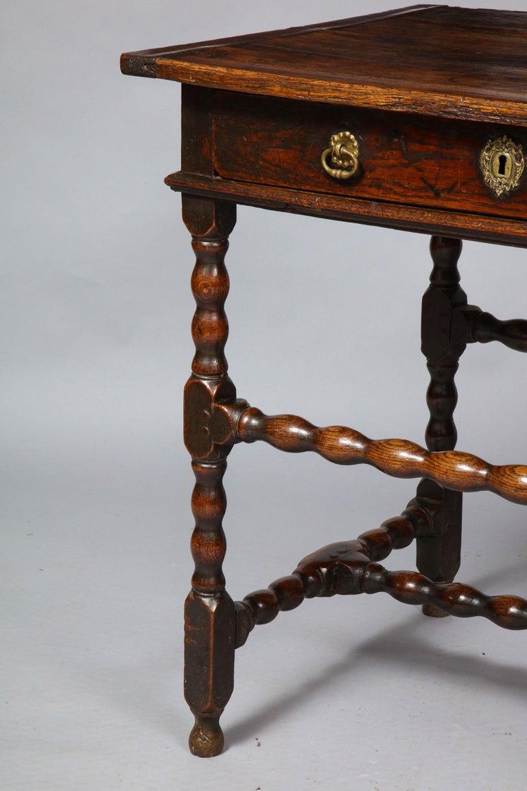 English Charles II Oak Table For Sale