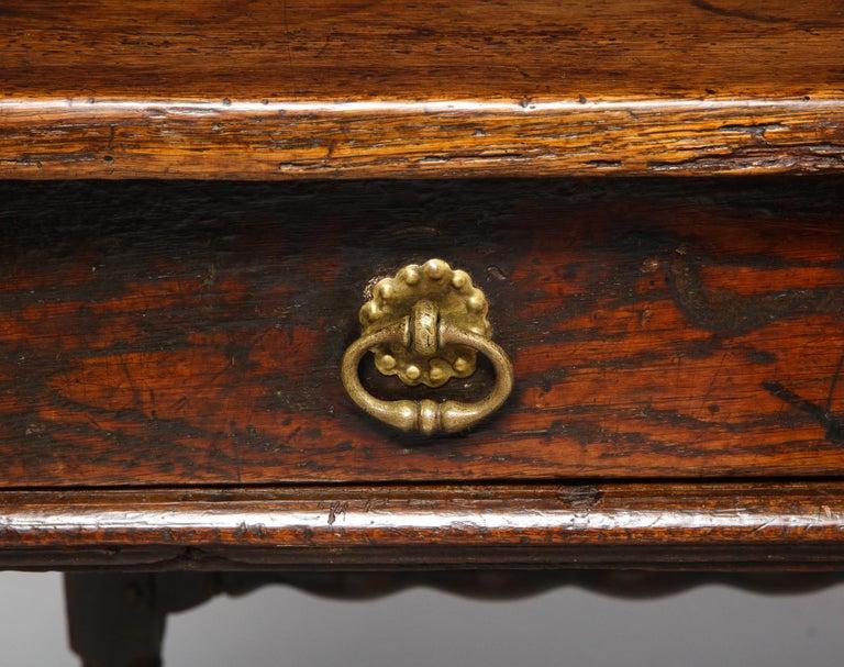 Charles II Oak Table For Sale 2