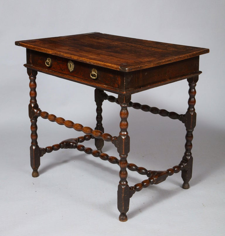 Charles II Oak Table For Sale 4