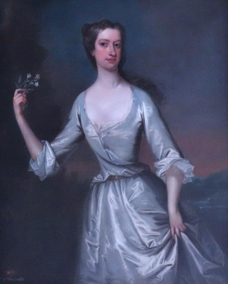 Charles Jervas Portrait Painting - Portrait of Henrietta Pelham-Holles, Duchess of Newcastle. English, 18th century