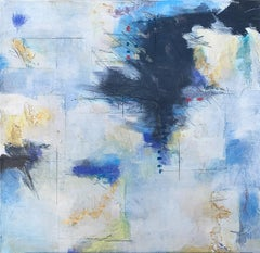 Blue Song I, Abstract Painting