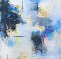 Blue Song II, Abstract Painting