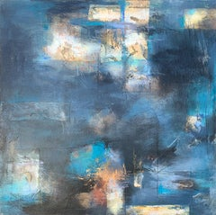 Stepping Stones, Abstract Painting