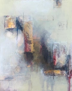 When Fog Chases Night, Abstract Painting