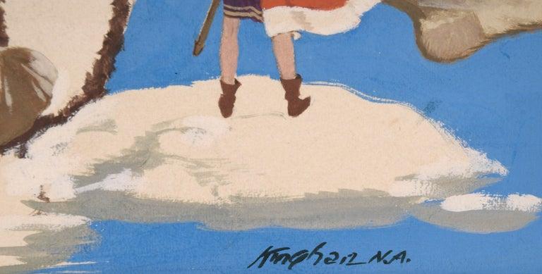 Adventures in Literature Illustration art For Sale 1