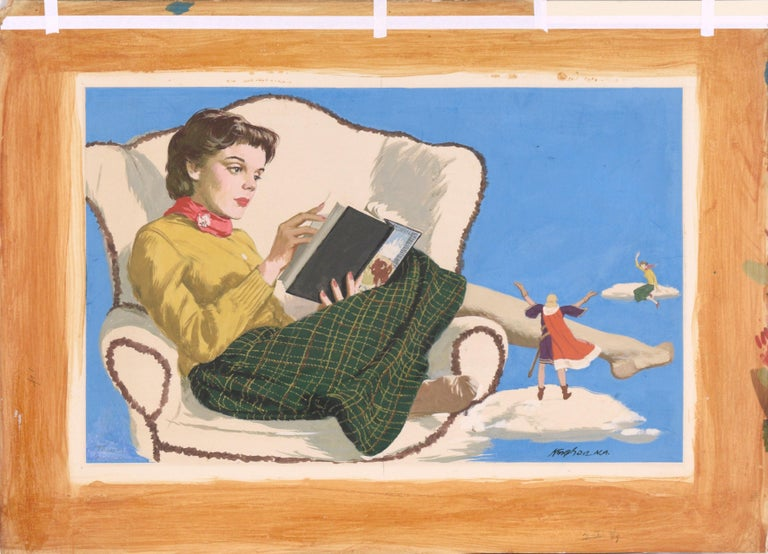 Adventures in Literature Illustration art For Sale 2