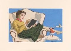 Adventures in Literature Illustration art