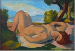 """Naked woman in the sun"""