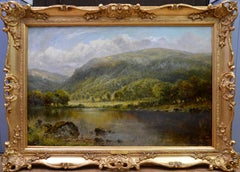 Loch Lomond - 19th Century Landscape Oil Painting of the Scottish Highlands