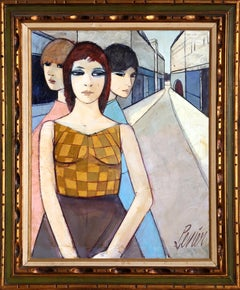 La Rue (The Street), Oil Painting by Charles Levier