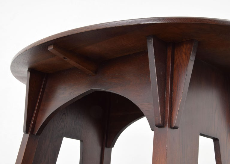 Charles Limbert Mission Library Table For Sale 3