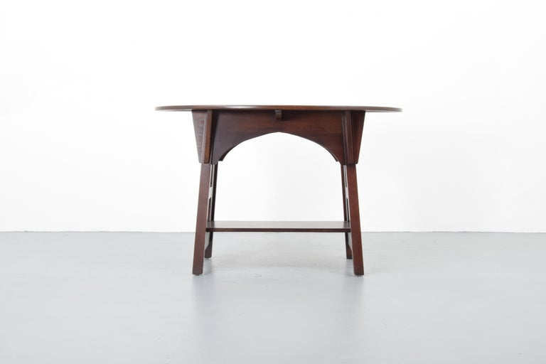 American Charles Limbert Mission Library Table For Sale