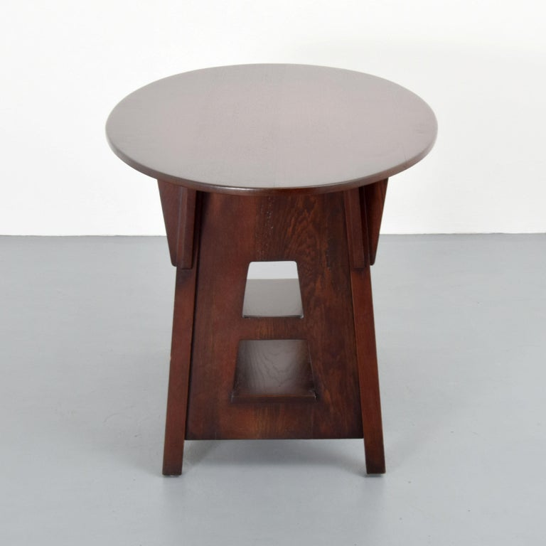 Oak Charles Limbert Mission Library Table For Sale