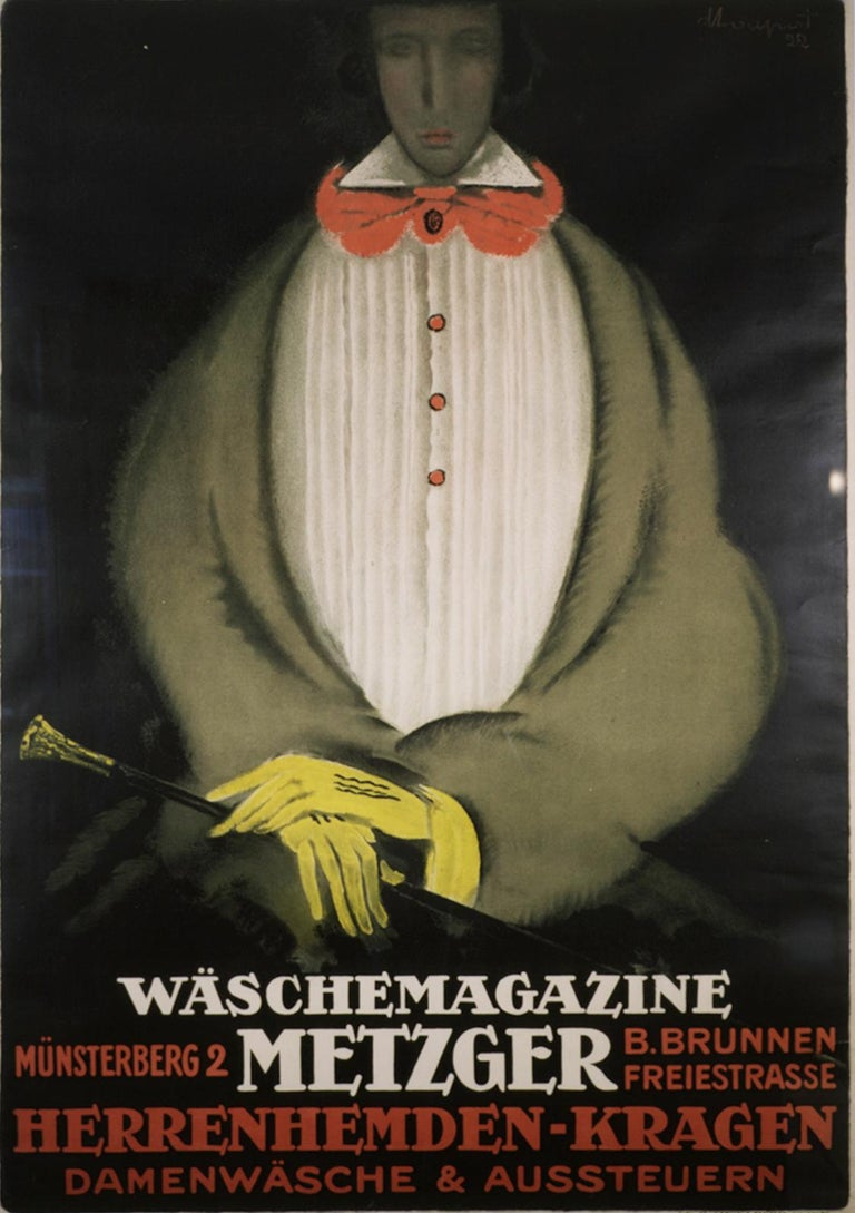 Waschemagazine Metzger - Print by Charles Loupot