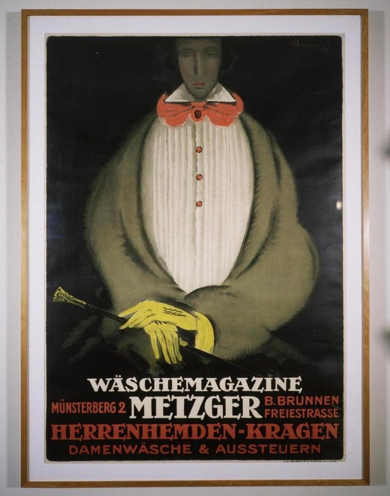 Charles Loupot Figurative Print -  Waschemagazine Metzger