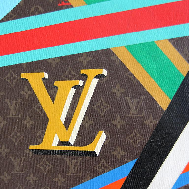 Epeius' Delight, Louis Vuitton Andy Warhol Multicolor Box Sculpture Charles Lutz For Sale 3