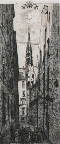 La Rue des Chantres (Street of the Singers [of Notre Dame]).