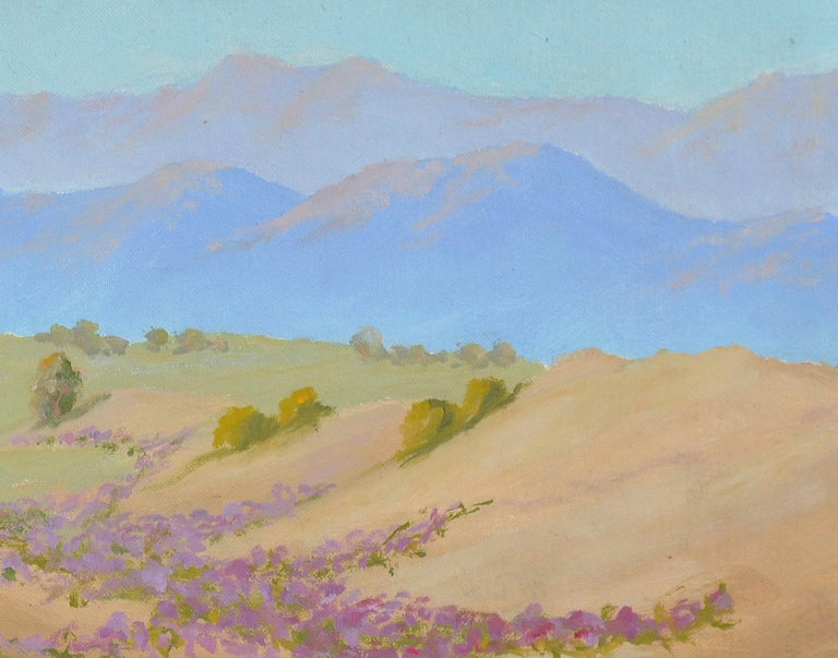Warmth of the Desert Landscape - American Impressionist Painting by Charles O. Fuson