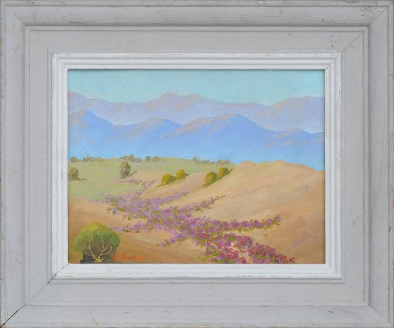 Charles O. Fuson Landscape Painting - Warmth of the Desert Landscape