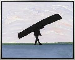 Manoe - pop-art, Canadiana, iconic, contemporary, acrylic on canvas